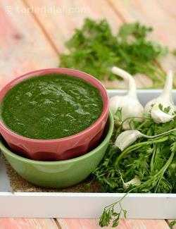 Green Garlic Chutney