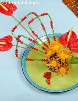 Ikebana For Your Dinner Table ( Flower Arrangements)