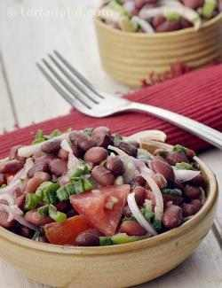 Kidney Bean Salad, Mexican Kidney Bean Salad