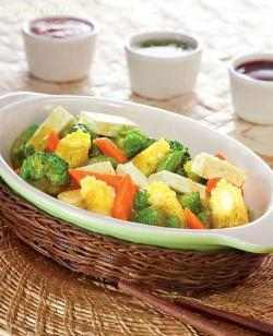 Lemon Grass Spicy Vegetables