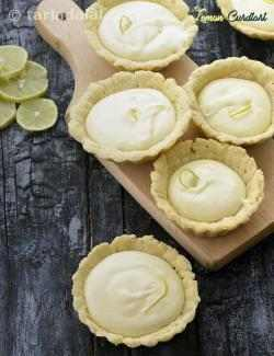 Lemon Curd Tarts with Eggs