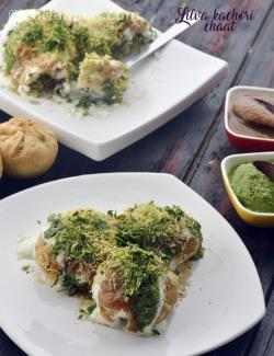 Lilva Kachori Chaat, Winter Fresh Toovar Kachori Chaat