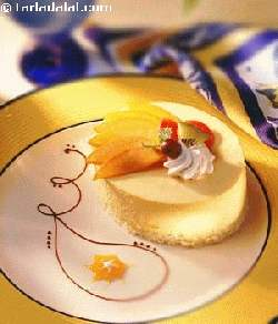 Mango Cheesecake ( Eggless Dessert)