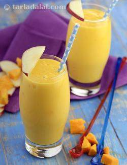 Mango Apple Smoothie ( Burgers and Smoothies Recipe)