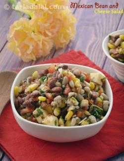 Mexican Bean and Cheese Salad