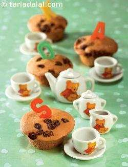 Mini Raisin Muffins