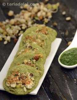 Mini Green Moong Dal Chila