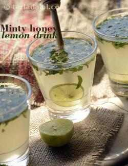 Minty Honey Lemon Drink