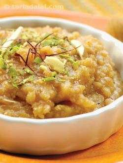 Moong Dal Sheera ( Gujarati Recipe)