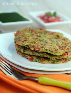 Nutritious Jowar and Tomato Chila