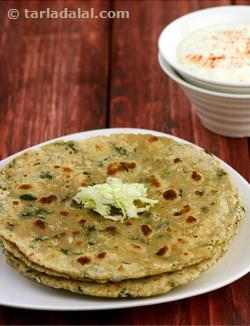 Nutritious Cabbage and Methi Roti