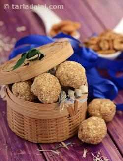 Oats and Mixed Nuts Ladoo ( Healthy Laddu)