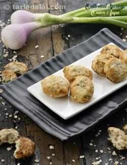 Oats and Spring Onion Appe, Diabetic Recipe