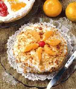 Orange and Lemon Gateau