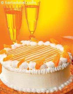 Orange Gateau ( Cakes and Pastries)