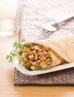 Paneer Khurchan Roll (  Wraps and Rolls)