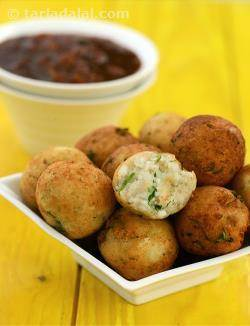 Paneer Balls with Barbeque Sauce