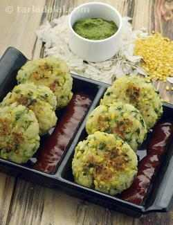 Poha Cutlet (  Iron Rich )