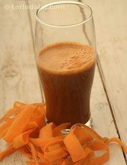 Carrot and Black Grape Juice