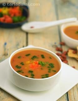 Rajma Soup, Kidney Bean Soup Recipe