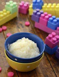Rice Mash ( Baby and Toddler Recipe)