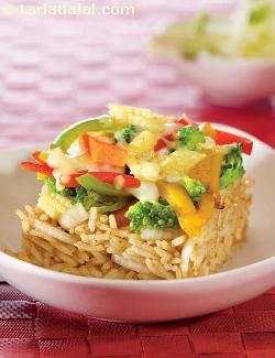 Roasted Vegetables with Brown Rice ( Eat Well Stay Well Recipes )