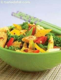 Schezuan Style Stir- Fried Vegetables ( Chinese Cooking )