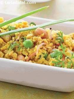 Soya Poha ( Weight Loss After Pregnanacy )