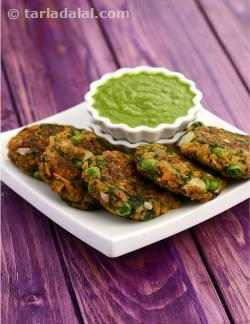 Soya and Green Peas Cutlet