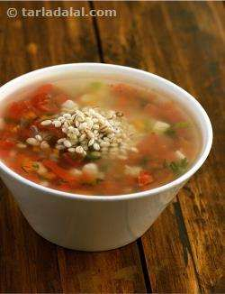 Spicy Barley Soup