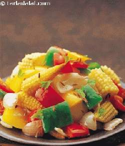 Stir-fried Baby Corn