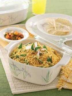 Tendli Bhaat ( Jain Recipe)