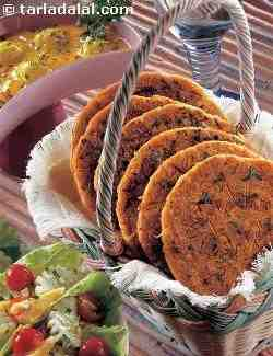 Toasted Methi Rotis ( Jain Recipe)