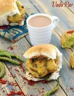 Vada Pav, Mumbai Roadside Recipe