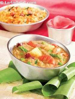 Vegetable Korma ( How To Make Veg Korma)