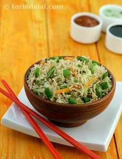 Vegetable Fried Rice ( Chinese )