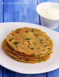 Vegetable Parathas  ( Baby and Toddler )
