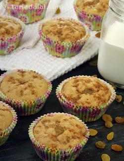 Whole Wheat Carrot and Raisin Muffins ( Finger Foods For Kids )