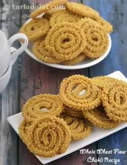 Whole Wheat Flour Chakli Recipe, Jar Snack