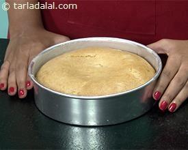 Eggless pineapple cake recipe tarla dalal