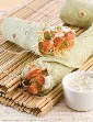 Tandoori Aloo Wrap ( Wraps and Rolls) in Hindi
