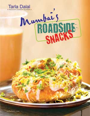 Mumbais roadside snacks cookbook by tarla dalal mumbai roadside click on the cover image to sample content from the book forumfinder Choice Image