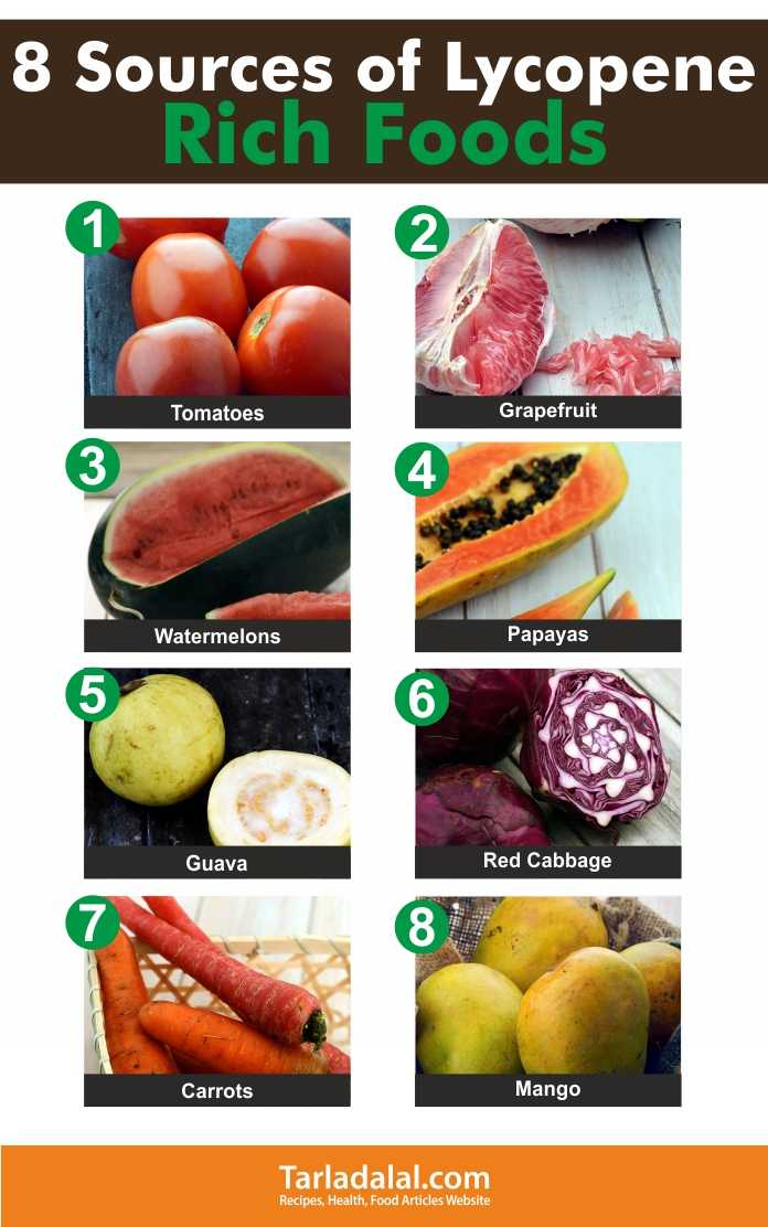8 Sources of Lycopene Rich Foods