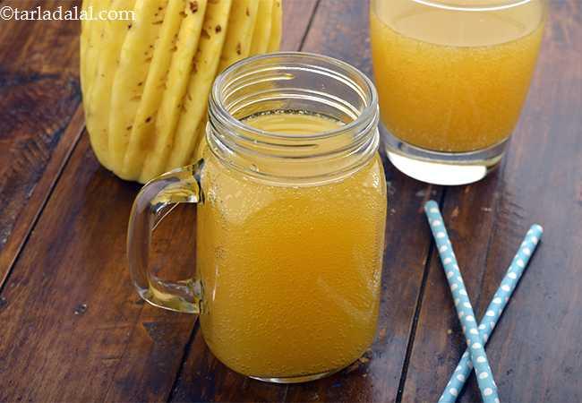 ऑल राउंडर, संतरे अनानास और लेमोनेड का पेय - All Rounder, Orange Pineapple and Lemonade Drink