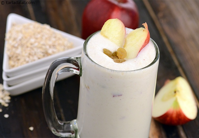 Apple and Oats Milkshake