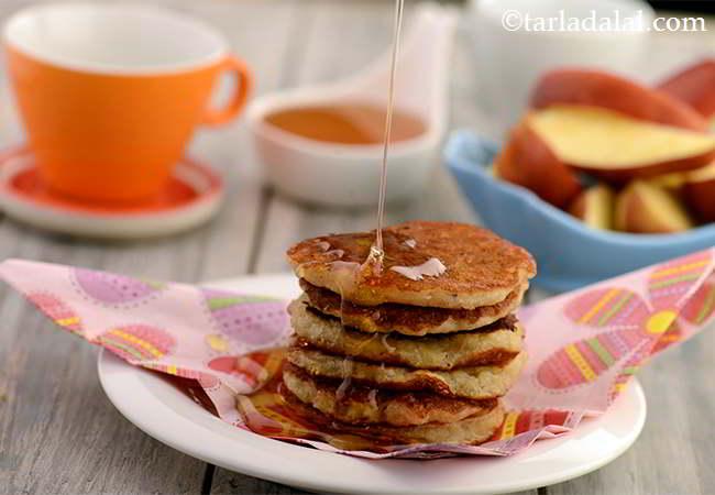 Apple Honey Pancake