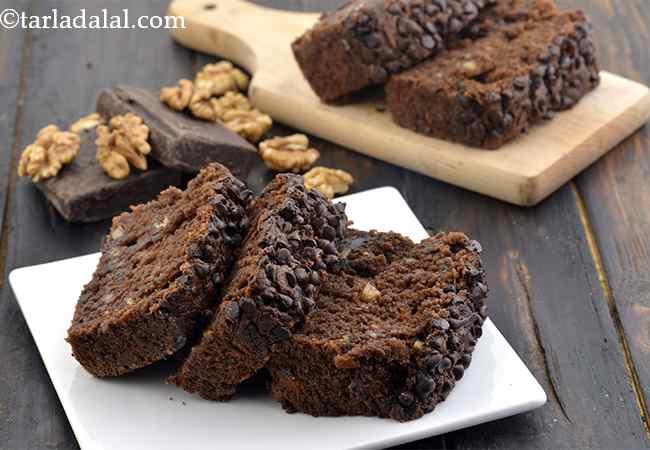 Banana Chocolate Loaf Recipe, Eggless Dessert