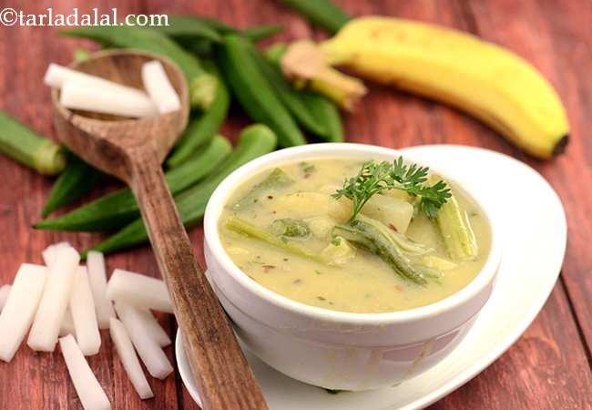 भाटीया कड़ी रेसिपी | गुजराती भाटीया कड़ी | मीठी और खट्टी गुजराती कढ़ी | - Bhatia Kadhi ( Gujarati Recipe)