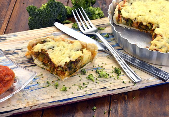 Broccoli Pizza Pie