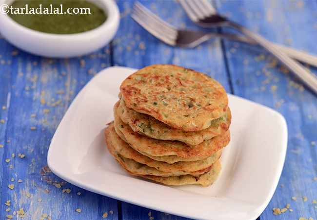Bulgur Wheat Pancakes